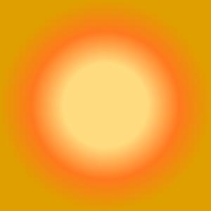Radial gradient with focal radius